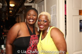 Johmaalya Adelekan and Lillias White. Photo by Lia Chang