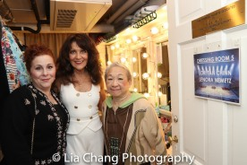 Tami Dahbura, Lenora Nemetz, Lori Tan Chinn. Photo by Lia Chang