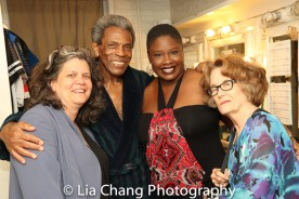 Traci DiGesu, André De Shields, joan Jeffri. Photo by Lia Chang
