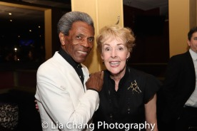 André De Shields and Georgia Engel. Photo by Lia Chang