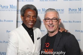 André De Shields and Joe Pilla. Photo by Lia Chang