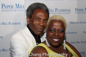 André De Shields and Lillias White. Photo by Lia Chang