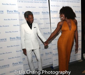 André De Shields and Nkeki Obi-Melekwe. Photo by Lia Chang