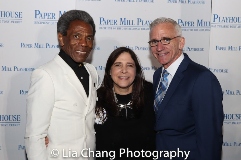 André De Shields, Dori Berinstein and Mark S. Hoebee. Photo by Lia Chang