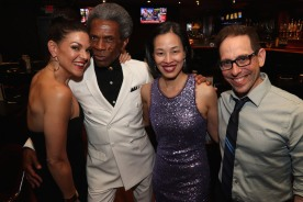 Tracy Jai Edwards, André De Shields, Lia Chang, Garth Kravits.