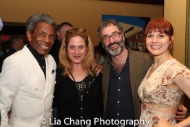 André De Shields, Lisa Lambert, Don McKellar and Jenny. Photo by Lia Chang