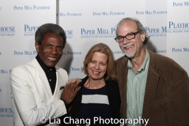 André De Shields, Liza Streb Melamed, Ken Melamed. Photo by Lia Chang