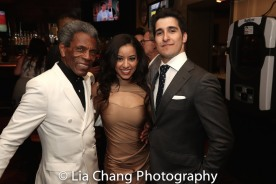 André De Shields, Syndi Beaudoin and Alexander Aguilar. Photo by Lia Chang