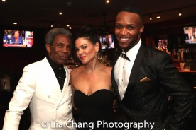 André De Shields, Tracy Edwards and Valton Jackson. Photo by Lia Chang