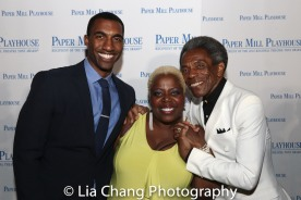 Garrett Turner, Lillias White and André De Shields. Photo by Lia Chang