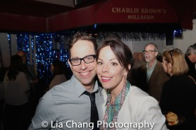 Garth Kravits and Leslie Kritzer. Photo by Lia Chang