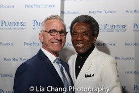 Mark S. Hoebee and André De Shields. Photo by Lia Chang