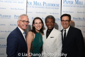Mark S. Hoebee, Kyra Leeds, André De Shields and Jordan Leeds. Photo by Lia Chang