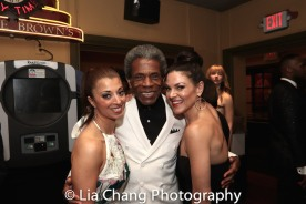 Paula DeLuise, André De Shields, Tracy Jai Edwards. Photo by Lia Chang