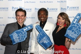 E-Spencer Stevens, Andre De Shields, Summerisa Bell Stevens. Photo by Lia Chang-308