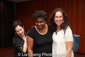 Lynn Ahrens, Kirsten Childs, Mara Isaacs. Photo by Lia Chang