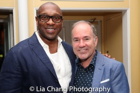 Alton Fitzgerald White and Stephen Flaherty. Photo by Lia Chang