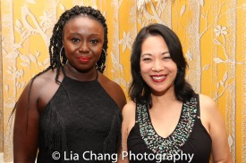 Jocelyn Bioh and Christine Toy Johnson. Photo by Lia Chang