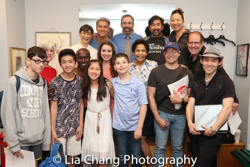 Kids (L to R): Liam Kaznelson, Andrew Chen, Avelina Sanchez, Joshua Turchin. Front row Adults (L to R): Mary Beth Purdy, Kenny Ingram, Jane Bernhard, Allyson Tucker, Alex Sanchez, Paul Fujimoto. Back row adults: Wai Ching Ho, Ethan Phong, Thomas Conroy, Fenton Li, Lainie Sakakura, David Bell. Photo by Lia Chang