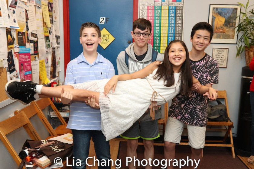 Avelina Sanchez, Joshua Turchin, Liam Kaznelson, Andrew Chen. Photo by Lia Chang