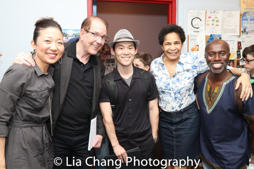 Lainie Sakakura, David Bell, Paul Fujimoto, Allyson Tucker-Mitchell and Kenny Ingram. Photo by Lia Chang