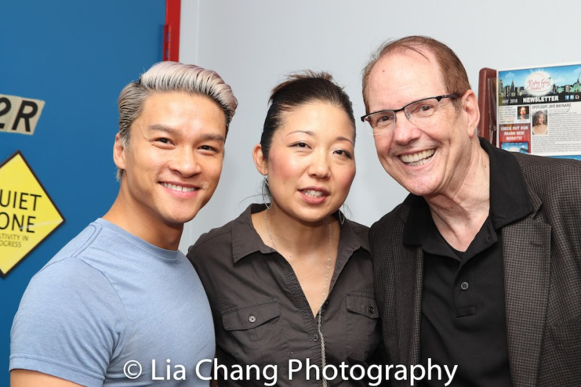 Ethan L. Phong, Lainie Sakakura and David Bell. Photo by Lia Chang