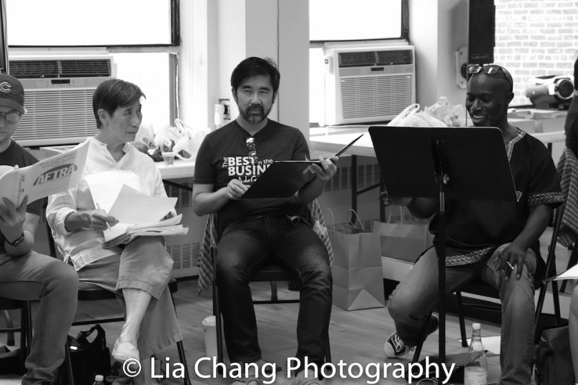 Wai Ching Ho, Fenton Li and Kenny Ingram. Photo by Lia Chang