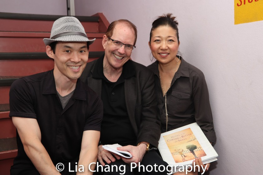 Paul Fujimoto, David Bell and Lainie Sakakura. Photo by Lia Chang