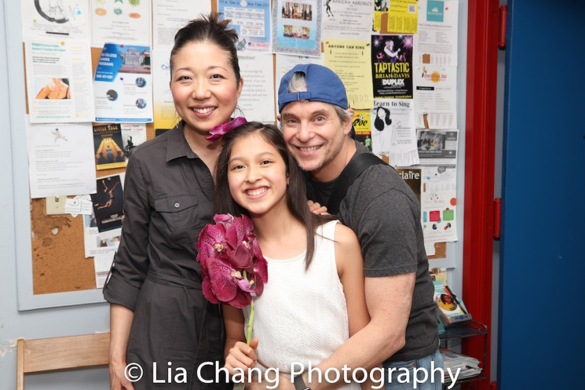 Lainie Sakakura, Avelina Sanchez and Alex Sanchez. Photo by Lia Chang