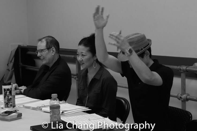 David Bell, Lainie Sakakura and Paul Fujimoto. Photo by Lia Chang