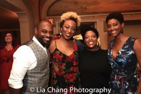 Michael O. Mitchell, Alexandria, Brinae Ali Bradley, Rheaume Crenshaw and Marla McReynolds. Photo by Lia Chang