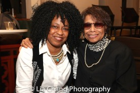 Jackie Jeffries and Micki Grant. Photo by Lia Chang
