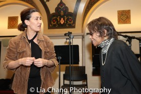 Jeanine Tesori and Micki Grant. Photo by Lia Chang