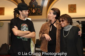Savion Glover, Jeanine Tesori and Micki Grant. Photo by Lia Chang