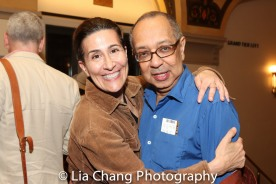 Jeanine Tesori and George C. Wolfe. Photo by Lia Chang