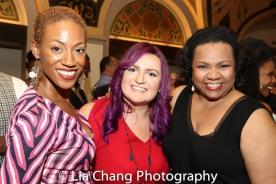 Monique Smith, Annastasia Victory and Aisha De Haas. Photo by Lia Chang