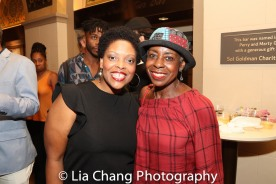 Rheaume Crenshaw and Marjorie Johnson. Photo by Lia Chang
