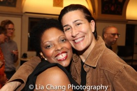 Rheaume Crenshaw and Jeanine Tesori. Photo by Lia Chang