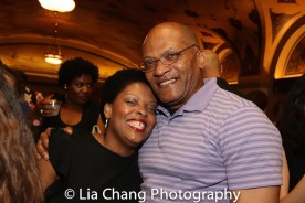 Rheaume Crenshaw and Lawrence Evans. Photo by Lia Chang