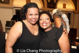 Aisha de Haas and Rheaume Crenshaw. Photo by Lia Chang