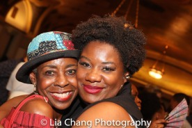 Marjorie Johnson and Adrienne C. Moore. Photo by Lia Chang