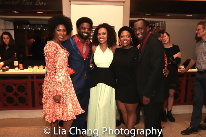 Amber Barbee Pickens, Ck Edwards, Nina Hudson, Rheaume Crenshaw and Jeff Foote. Photo by Lia Chang