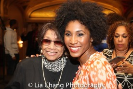 Micki Grant and Amber Barbee Pickens. Photo by Lia Chang