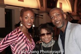 Monique Smith, Micki Grant and Marshall l. Davis. Photo by Lia Chang