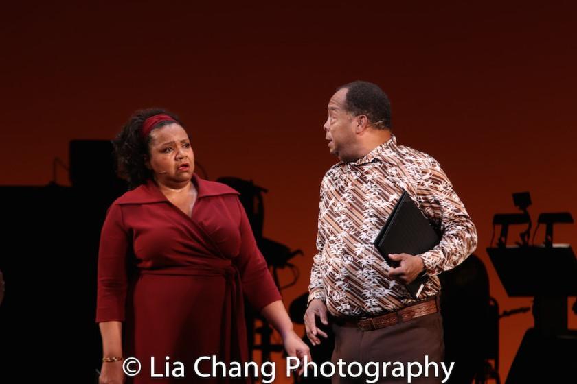 Aisha de Haas and Wayne Pretlow. Photo by Lia Chang
