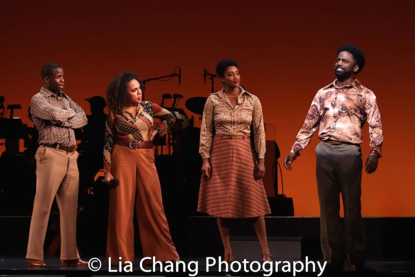 James T Lane, Nina Hudson, Marla McReynolds and Ck Edwards. Photo by Lia Chang