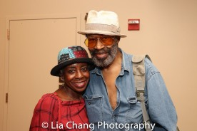 Marjorie Johnson and Anthony Chisholm. Photo by Lia Chang