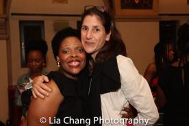 Rheaume Crenshaw and Anne Kaufman. Photo by Lia Chang
