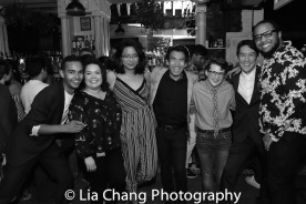 Erik Freels-Vargas, Itzel Ayala, Vanessa Reyes, Nicholas Leung, Nicholas Shannon, Patrick McDonnell and Dominique Rider. Photo by Lia Chang