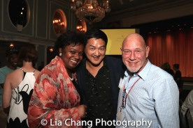 Kirsten Childs, Timothy Huang and Gary Garrison. Photo by Lia Chang
